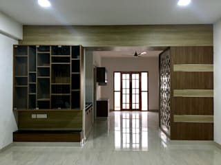 Dr. Kuppuraj Residence @ Coimbatore Minimalist living room by Olive Architecture Studio Minimalist