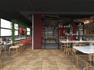 Chef Rosso Restaurant Tasarımı - Mersin Rengin Mimarlık Kırsal/Country