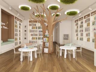 Çocuk Kitapevi Tasarımı - Mersin Minimalist Çocuk Odası Rengin Mimarlık Minimalist
