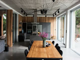 Ruang Makan Minimalis Oleh Festfloor Microcemento Minimalis