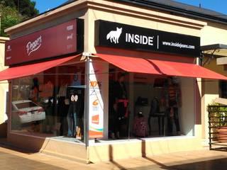 Galería comercial: Casas de estilo  por Guadalupe Avila & asoc.