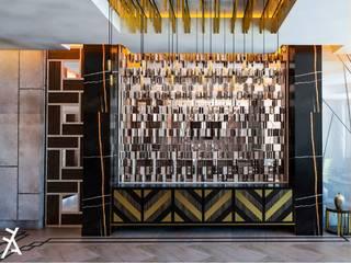Modern Home Wine Cellar by FA Arquitectos Modern