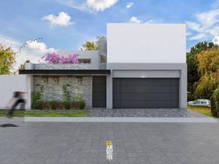 Minimalist house by FA Arquitectos Minimalist