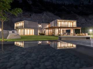 Casa MEC Casas modernas: Ideas, diseños y decoración de Francisco Dulanto Arquitecto Moderno