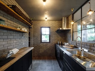 Industrial style kitchen by dwarf Industrial
