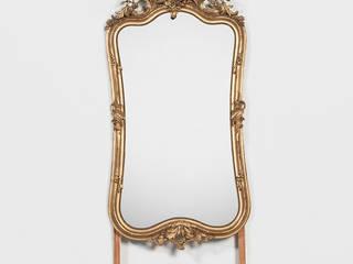 Grote Antieke Franse Rococo Spiegel van Franse Spiegels Klassiek