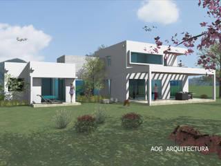 AOG Casas unifamilares Metal Blanco