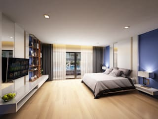 bedroom:   by walkinterior