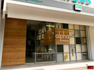 "Office of Alpha Enterprises: {:asian=>""asian"", :classic=>""classic"", :colonial=>""colonial"", :country=>""country"", :eclectic=>""eclectic"", :industrial=>""industrial"", :mediterranean=>""mediterranean"", :minimalist=>""minimalist"", :modern=>""modern"", :rustic=>""rustic"", :scandinavian=>""scandinavian"", :tropical=>""tropical""}  by Red Brick Design Studio,"