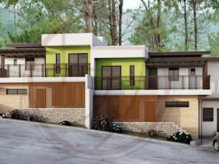 Residential Projects:  Multi-Family house by Kenchiku 2600
