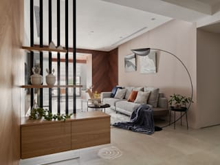 漫延‧悠然 層層室內裝修設計有限公司 现代客厅設計點子、靈感 & 圖片