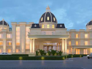 HOTEL HAVELI, INDIA Classic hotels by Ramchandani Architects Classic