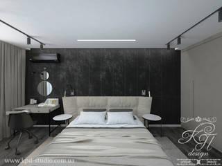 Petites chambres de style  par Студия дизайна интерьера и архитектуры 'КПД, Éclectique
