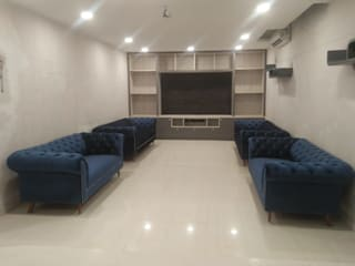 Basement at Noida: minimalist  by Grey-Woods,Minimalist