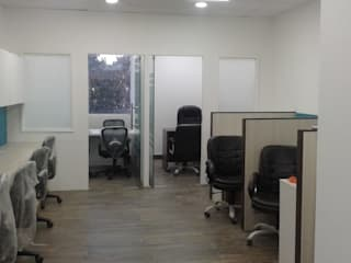 Grey-Woods Office spaces & stores Tiles Beige