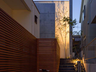 K House: triowood architect officeが手掛けた一戸建て住宅です。,