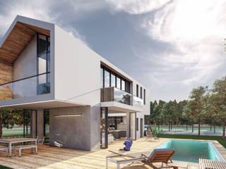 Lot Studıo Mimarlık – SM Evi - Marmaris:  tarz Villa,