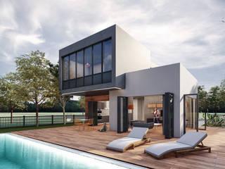Lot Studıo Mimarlık – KT Evi - Çeşme:  tarz Evler,