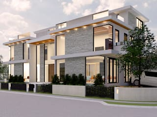 3-Storey Residence Treveia Nuvali:   by Studiolo Incorporated