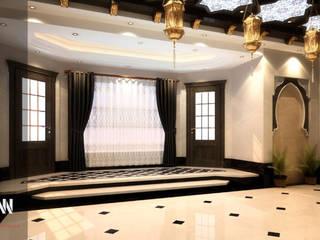 طراز عربي جذاب  لبيت  بالدوحة:  تصميم مساحات داخلية تنفيذ AKYAN,