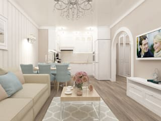 Living room by Vision Design, Classic