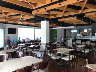 Haruko Sushi Gastronomía de estilo moderno de REA + m3 Taller de Arquitectura Moderno