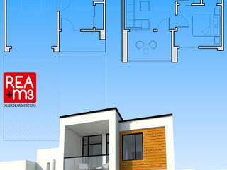 Prototipo de vivienda unifamiliar en un terreno de 7.5 x 15 m de REA + m3 Taller de Arquitectura