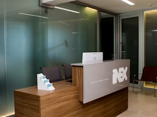 Clinica INEX Escritórios modernos por Sabrina Tironi Projetos e Gerenciamento Moderno