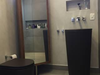 APARTAMENTO MOEMA Banheiros modernos por Sabrina Tironi Projetos e Gerenciamento Moderno