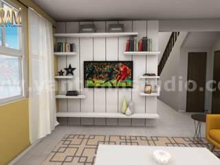 3D Interior Kitchen & Living room Design of Virtual Reality Real Estate Companies by 3D Architectural Design, Malta – Europe Modern Oturma Odası Yantram Architectural Design Studio Modern