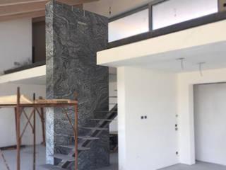 Canalmarmi e Graniti snc Minimalist walls & floors Marble Black
