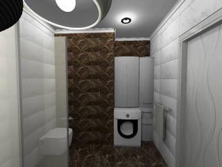 однокомнатная квартира город Энгельс, ЖК Облака Ванная в стиле лофт от Студия дизайна Фрейя Лофт