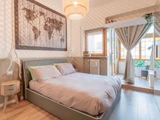 camera da letto di Facile Ristrutturare Moderno