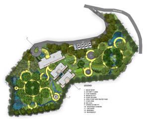 Landscape Design Masterplans:   by Olive Architecture Studio,