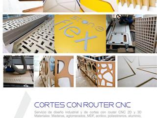 Cortes en router CNC de Arte ligero colombia