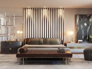 Elaine Ramos | Arquitetos Associados Modern style bedroom