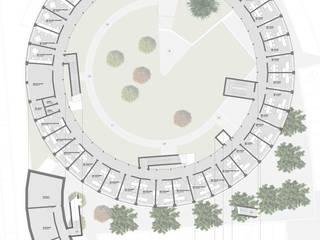 Concurso Centro de Saúde Santa Iria da Azóia Casas modernas por HAS - Hinterland Architecture Studio Moderno