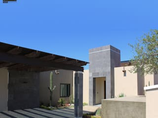 Modern Houses by DXS Arquitectura Modern