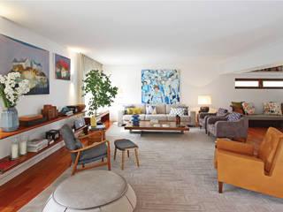 Serviços de Remodelações e Design de Interiores: Salas de estar  por Roof ,Moderno