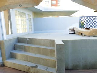 Serviços de Remodelações e Design de Interiores: Piscinas  por Roof ,Moderno