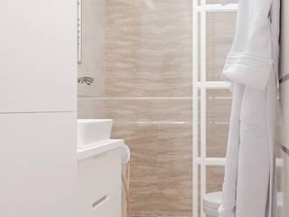 1-к квартира в ЖК Ямайка Ванная комната в стиле модерн от Molyako Design Модерн