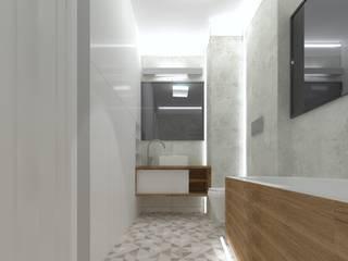 Nowoczena łazienka Nowoczesna łazienka od SH-ONLINE Bartosz Strzałkowski Nowoczesny