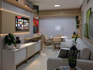 모던스타일 거실 by ALENCAR Arquitetura | Interiores 모던