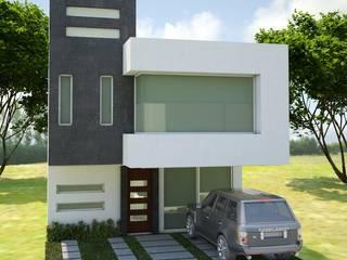Casas minimalistas por Arquitectura y construcción FRATELLI Minimalista