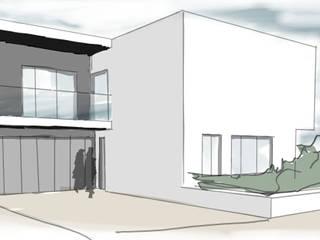 Casa O:   por CGF Arquitetura,