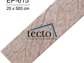 TECTO Plafon PVC - Lokal - 25cm x 500cm Oleh Tecto Plafon Klasik