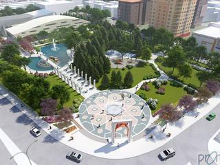 CSR Design - Alican Turgay Sezer – Aksaray Selçuklu Parkı Düzenleme Projesi:  tarz ,