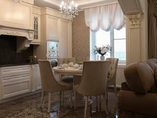 Сафонова Анастасия Kitchen units Marble Beige