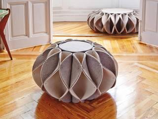 Ruff pouf para GAN de Romero & Vallejo / Estudio de arquitectura y diseño Moderno