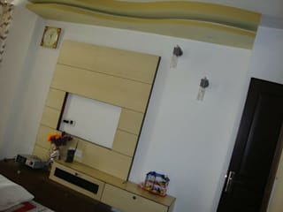 Pent house -Aaditya mega city Indirapuram gzb:   by SHUFFLE DESIZN